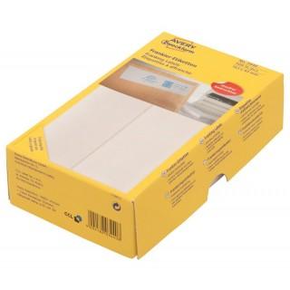 AVERY ZWECKFORM Frankieretiketten 3440 500 Stück permanent 163 x 43 mm weiß