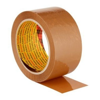 SCOTCH Verpackungsklebeband 1 Rolle 38 mm x 66 m braun