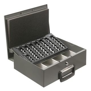 ALCO Geldtransportkassette 35,5 x 27,5 x 10,2 cm anthrazit
