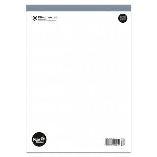 URSUS Notizblock DIN A5 48 Blatt ohne Deckblatt liniert