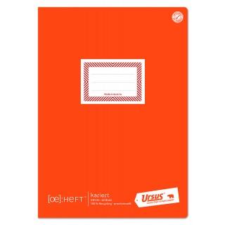 URSUS Schulheft ÖHeft A4 60 Blatt 80 g/m² kariert