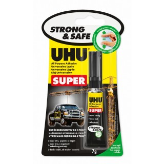 UHU Alleskleber 46960 Super Strong & Safe 7 g im Blister