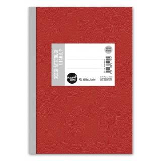 URSUS Geschäftsbuch A5 96 Blatt kariert blau