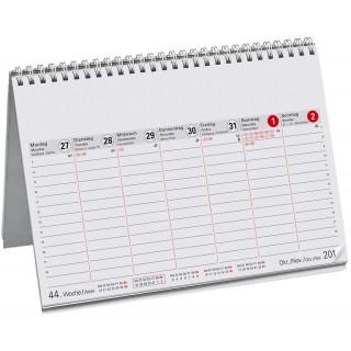 Wochenvormerkkalender DIN A5 7 Spalten 2021