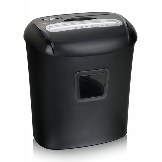 PEACH Aktenvernichter PS500-40 5x16mm Partikelschnitt schwarz