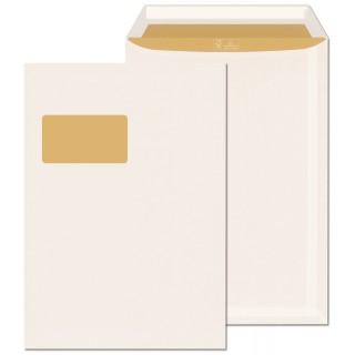 ÖKI Fenstertasche Biotop mit Haftklebestreifen 250 Stück C4 weiß