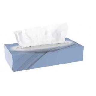 CLEAN & CLEVER Kosmetiktuch SMA67 100 Stück 2-lagig weiß