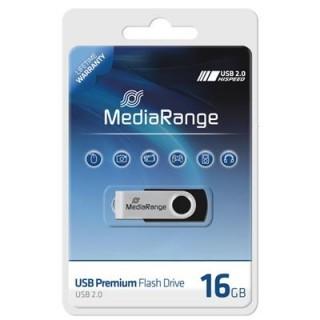MEDIARANGE USB-Stick 2.0 16 GB schwarz