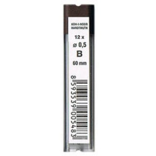 KOH-I-NOOR Bleimine 12 Stück Ø 0,5 mm B