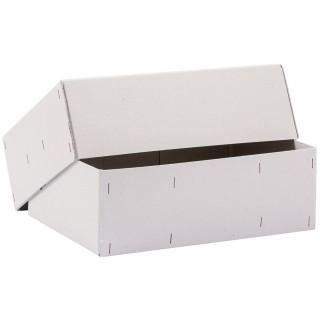 Versandkarton Graupappe 350 x 250 x 100 mm geheftet