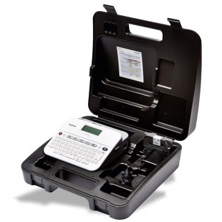 BROTHER Beschriftungsgerät P-touch D400VP weiß/grau