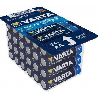 VARTA Batterien Longlife Power AA LR06 24 Stück 1,5 Volt