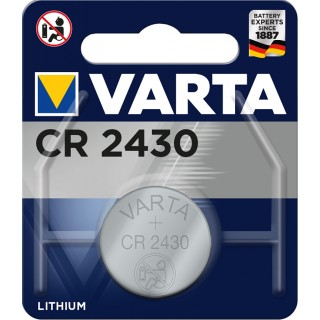 VARTA Knopfzelle CR2430 Lithium 3V