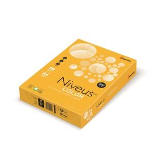 NIVEUS Color intensiv Kopierpapier A4 160 g/m² 250 Blatt sonnengelb