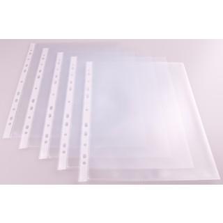 Klarsichthülle A5 genarbt 50 µm 100 Stück transparent