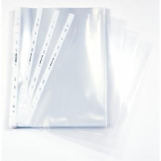 OFFICIO Klarsichthüllen A4 80 µm 100 Stück glatt