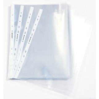 OFFICIO Klarsichthüllen 568 A4 100 µm 100 Stück glatt