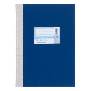 WURZER Geschäftsbuch A4 96 Blatt kariert dunkelblau