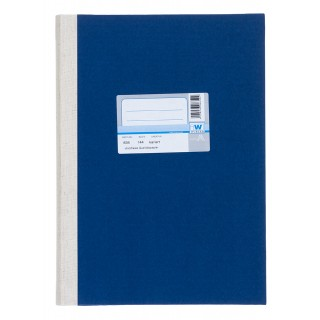 WURZER Geschäftsbuch A4 144 Blatt kariert dunkelblau