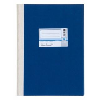 WURZER Geschäftsbuch A4 96 Blatt glatt dunkelblau