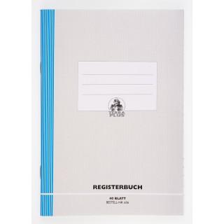 WURZER Registerheft W656 A5 liniert 40 Blatt