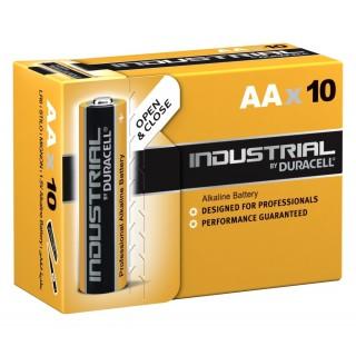DURACELL Batterie Industrial AA 10 Stück
