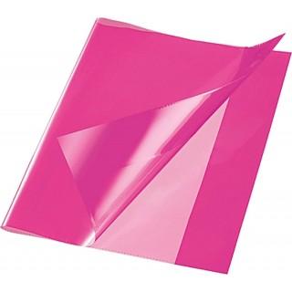 Heftschoner Quart PP pink