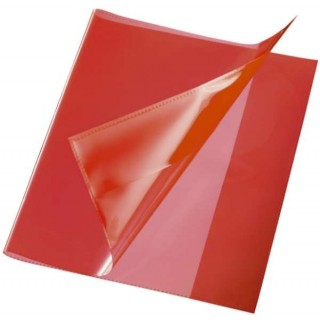 Heftschoner Quart PP rot