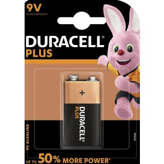 DURACELL Blockbatterie Plus Power MN1604 9 Volt