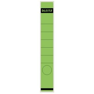 LEITZ Rückenschild lang schmal 10 Stück grün
