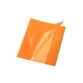 Heftschoner Quart PP 150µm glatt orange
