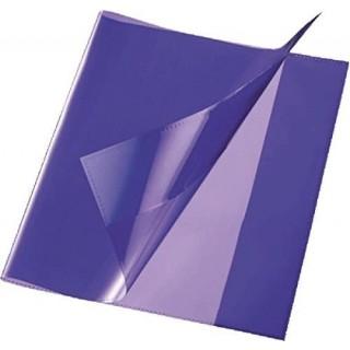 Heftschoner Quart PP 150µm glatt violett