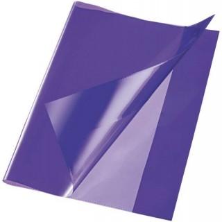 Heftschoner DIN A4 PP 150µm glatt violett