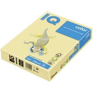 IQ Color Kopierpapier A4 120 g/m² 250 Blatt pastellgelb