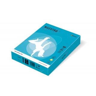 MAESTRO Color intensiv Kopierpapier A4 80 g/m² 500 Blatt wasserblau