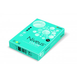NIVEUS Color Kopierpapier A4 160 g/m² 250 Blatt wasserblau