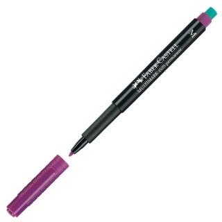 FABER CASTELL OHP-Stift Multimark 1525 permanent M violett