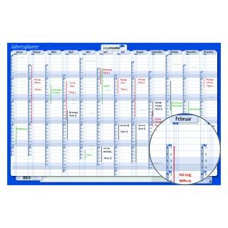 LEGAMASTER Jahresplaner 422021 aus Karton 60 x 90 cm 2021
