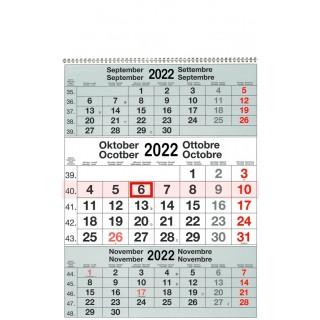 Speditionskalender 3 Monate 30 x 41 cm 2022