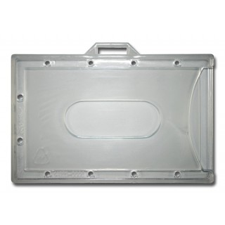 Kartenhalter CD11 horizontal 100 Stück transparent