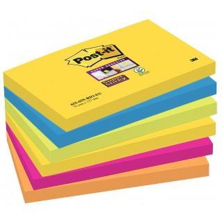POST-IT Haftnotiz 655-6SS 6 Stück mehrere Farben