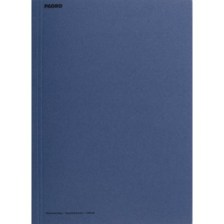 PAGRO Aktenumschlag Karton A4 blau