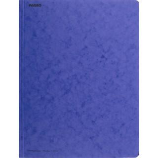 PAGRO Flügelmappe Pressspan A4 blau