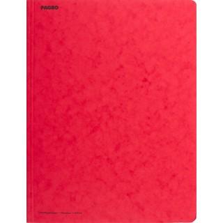 PAGRO Flügelmappe Pressspan A4 rot
