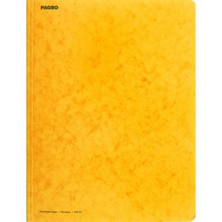PAGRO Flügelmappe Pressspan A4 gelb