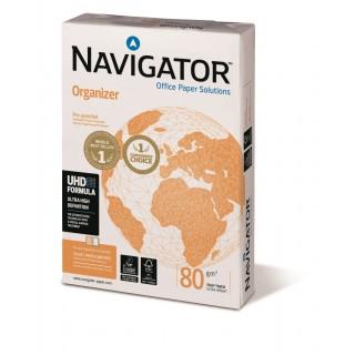NAVIGATOR Kopierpapier Organizer  A4 80 g/m² 4 x gelocht  500 Blatt weiß