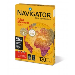NAVIGATOR Kopierpapier Colour Documents A4 120 g/m² 250 Blatt weiß
