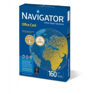 NAVIGATOR Kopierpapier Office Card A3 160 g/m² 250 Blatt weiß