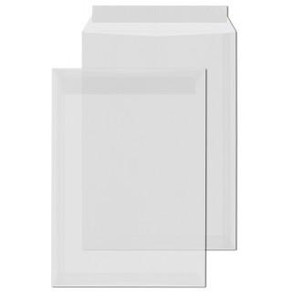ÖKI Transparentkuvert C4T-ÖF/TRklar100 250 Stück DIN C4 mit Haftstreifen 1000g/m² transparent