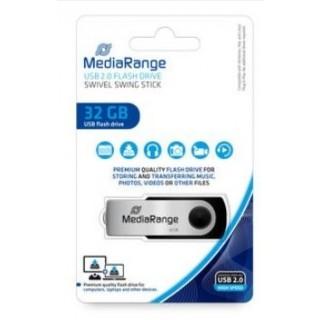MEDIARANGE USB-Stick 2.0 32 GB schwarz